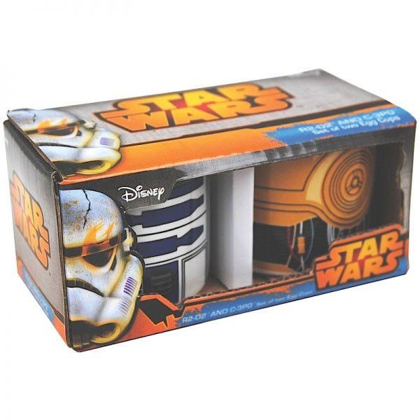Star Wars Eierbecher 2er Pack  Star Wars Frühstücks-Utensilien - Hadesflamme - Merchandise - Onlineshop für alles was das (Fan) Herz begehrt!