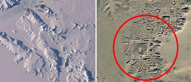 Ruínas de uma civilização perdida são descobertas em 2,3 km abaixo do gelo na Antártida | Mundo Gump