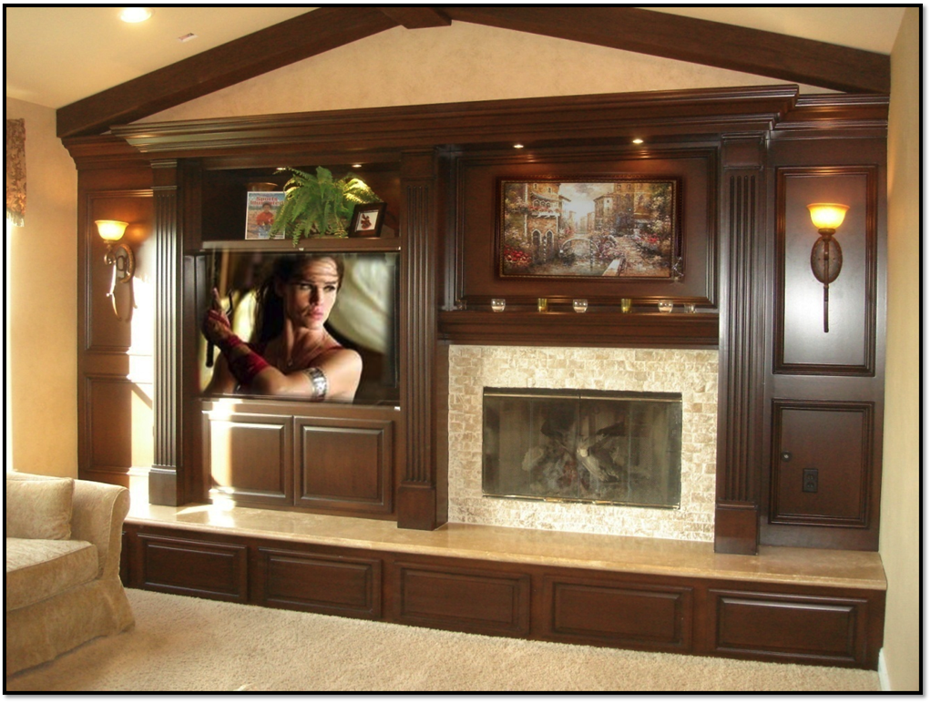 Fireplace Entertainment Center Classic 10 Appleton