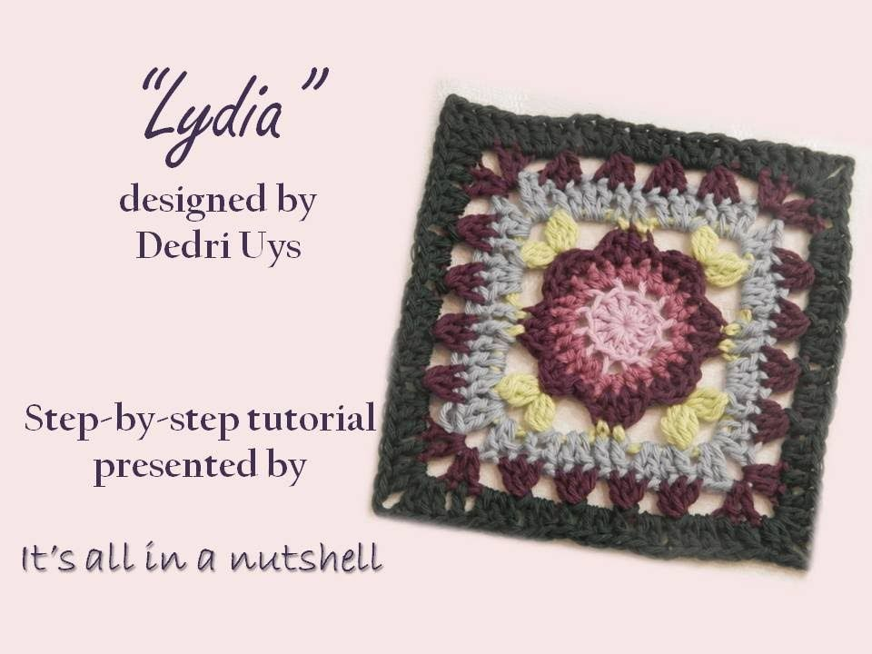 Lydia - Optional square for Sophie\'s Universe CAL part 19 | видео ...