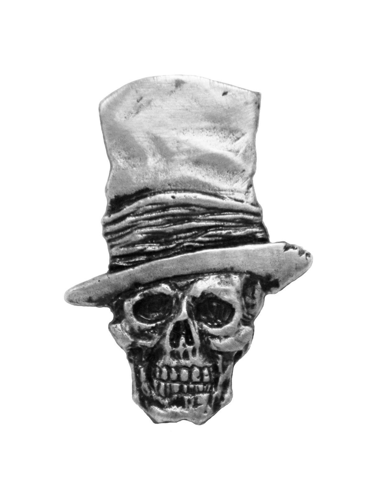 Stovepipe Skull Pin