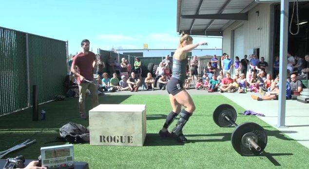 Jenny LaBaw Scores 230 in Open Workout 13.2 Workout