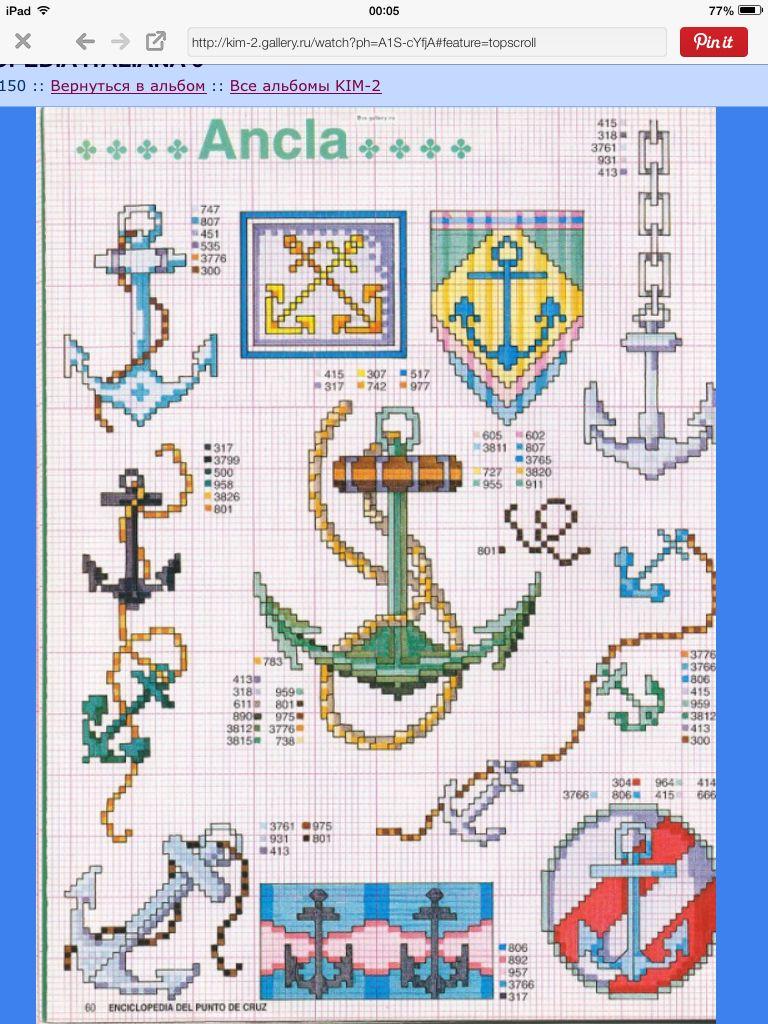 Nautical free cross stitch pattern chart cross stitch nautical free cross stitch pattern chart bankloansurffo Gallery