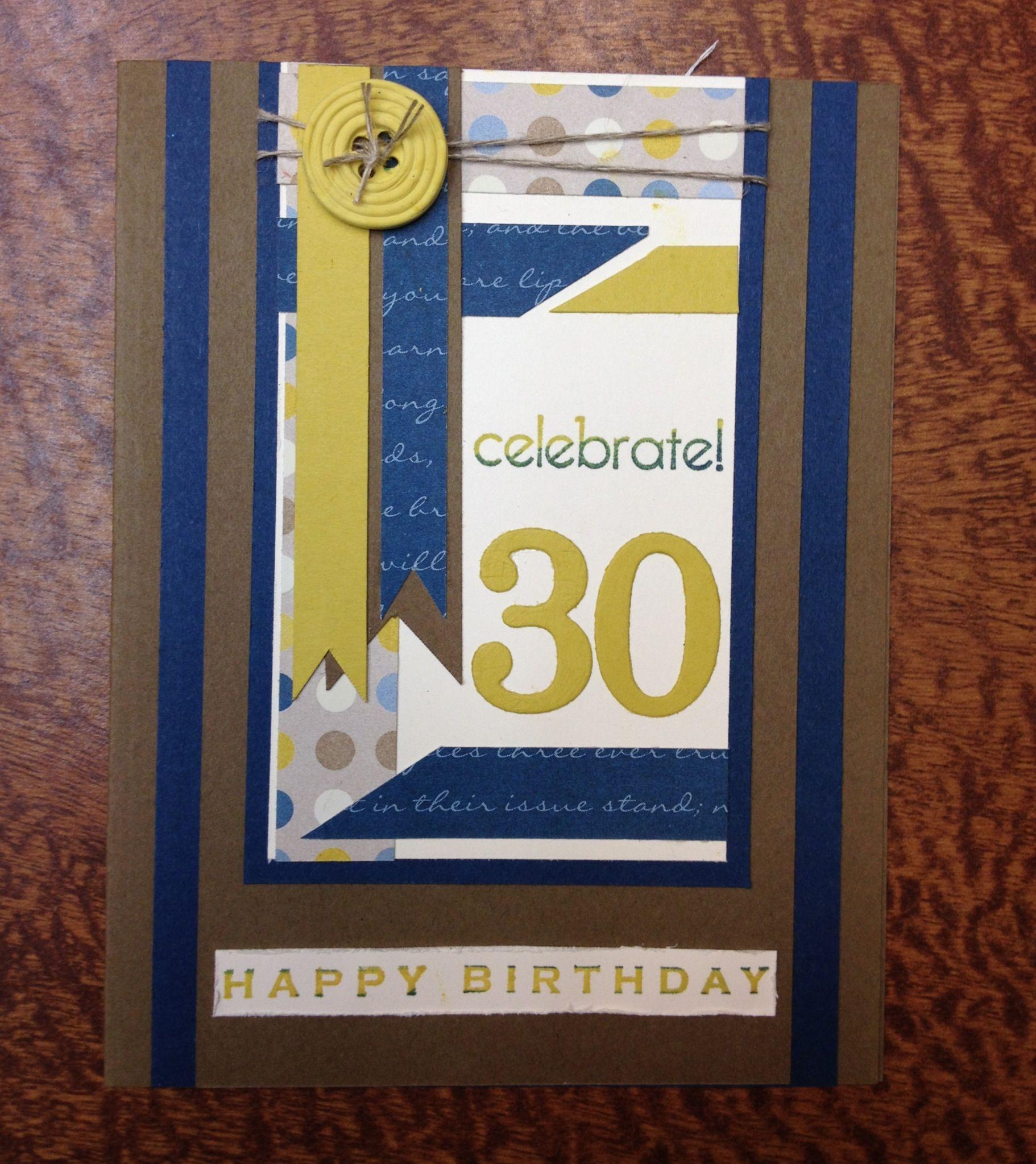 Oldest Son S 30th Birthday Card 30th Birthday Cards Cards Birthday Cards
