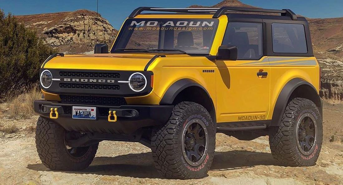 Do These Final 2021 Ford Bronco Renderings Make You Excited Carscoops In 2020 Ford Bronco Bronco Ford Bronco Lifted