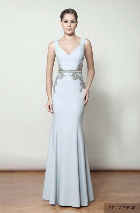 07 vestidos de festa azul claro | Prom, Gowns and Vestidos