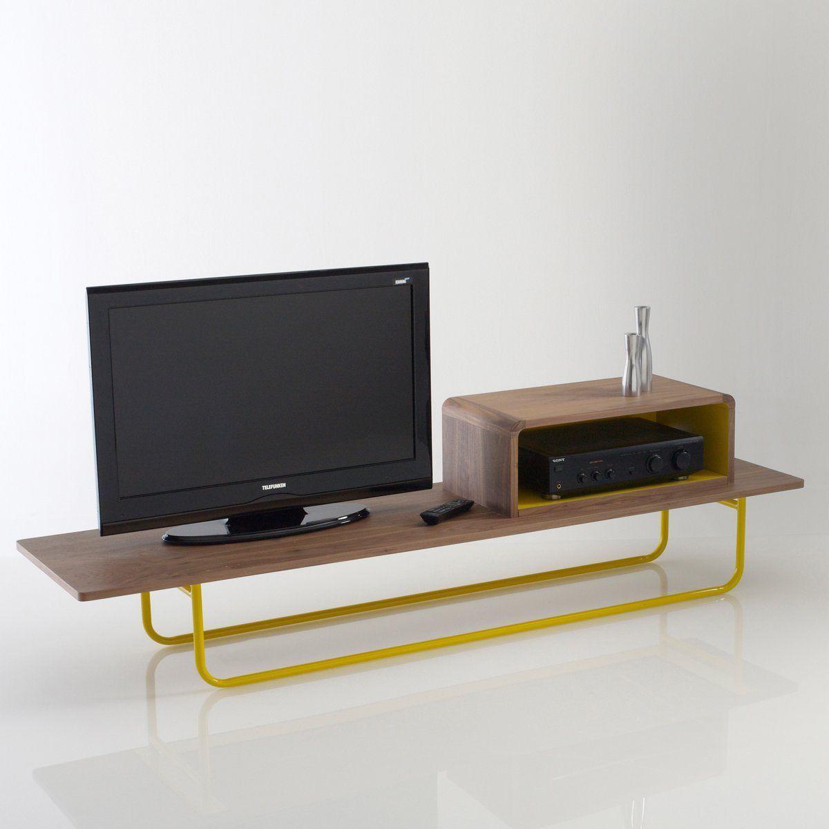 Meuble TV La Redoute promo Banc TV design Dan Yeffet pour Gallery