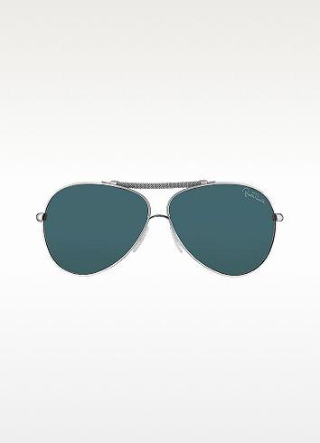 Roberto Cavalli Cercione - Signature Metal Aviator Sunglasses