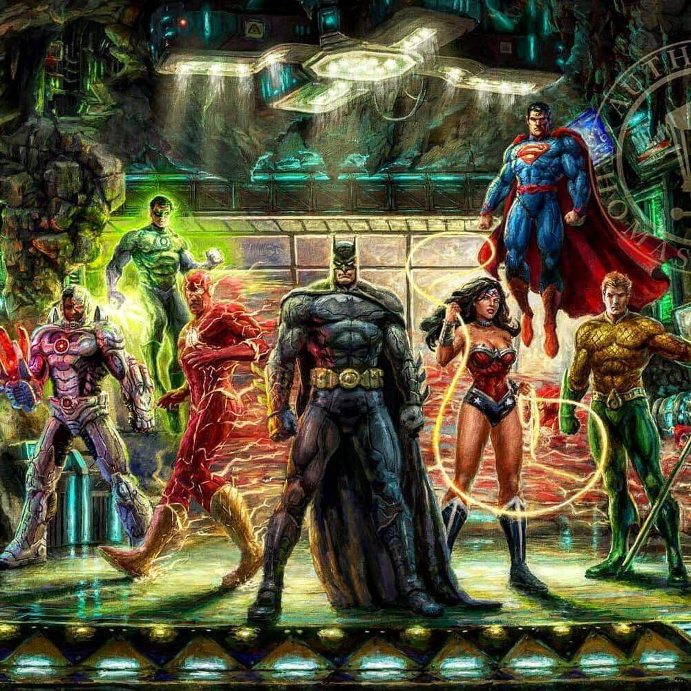 Pin by Keith Gailliard on Justice League Thomas kinkade
