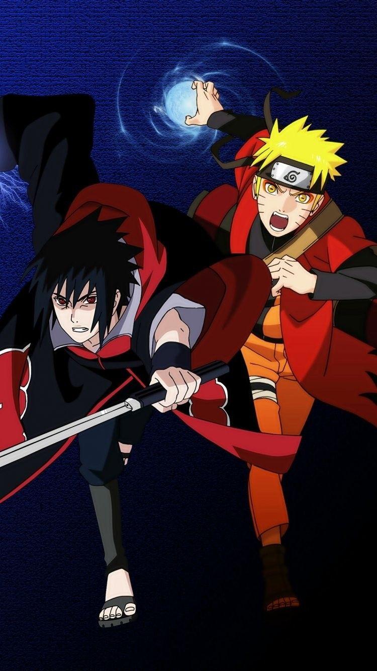 Naruto Sage Mode Anime iPhone Wallpaper 640×1136 Naruto ...
