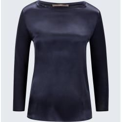 Photo of Silk shirt in Navy windsorwindsor
