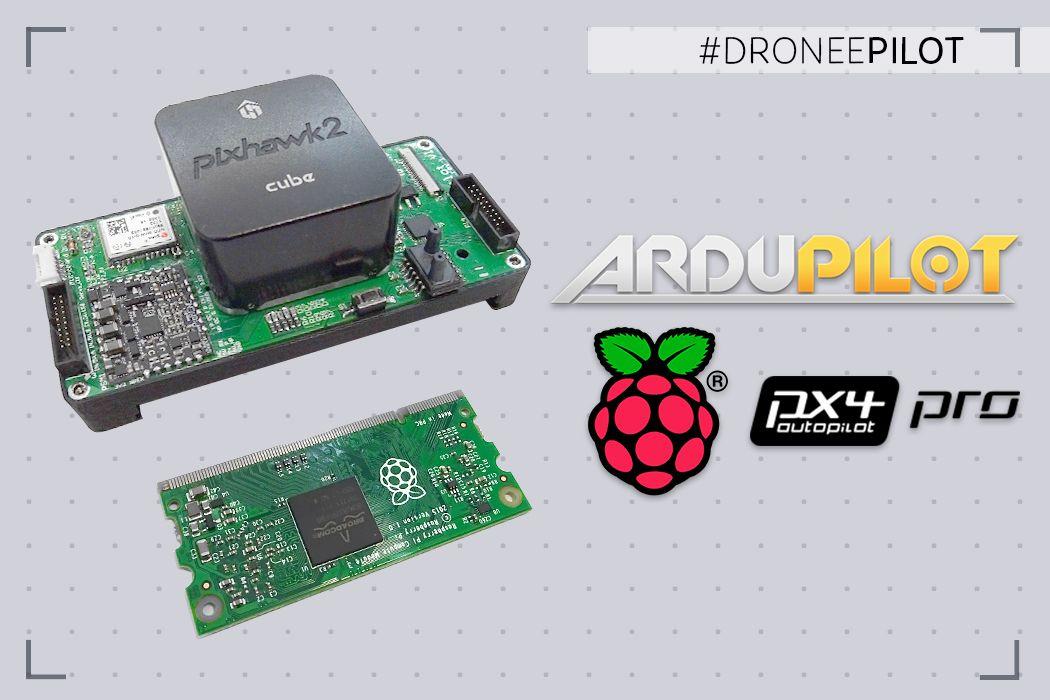 Drone Autopilot with Raspberry pi Compute module 3