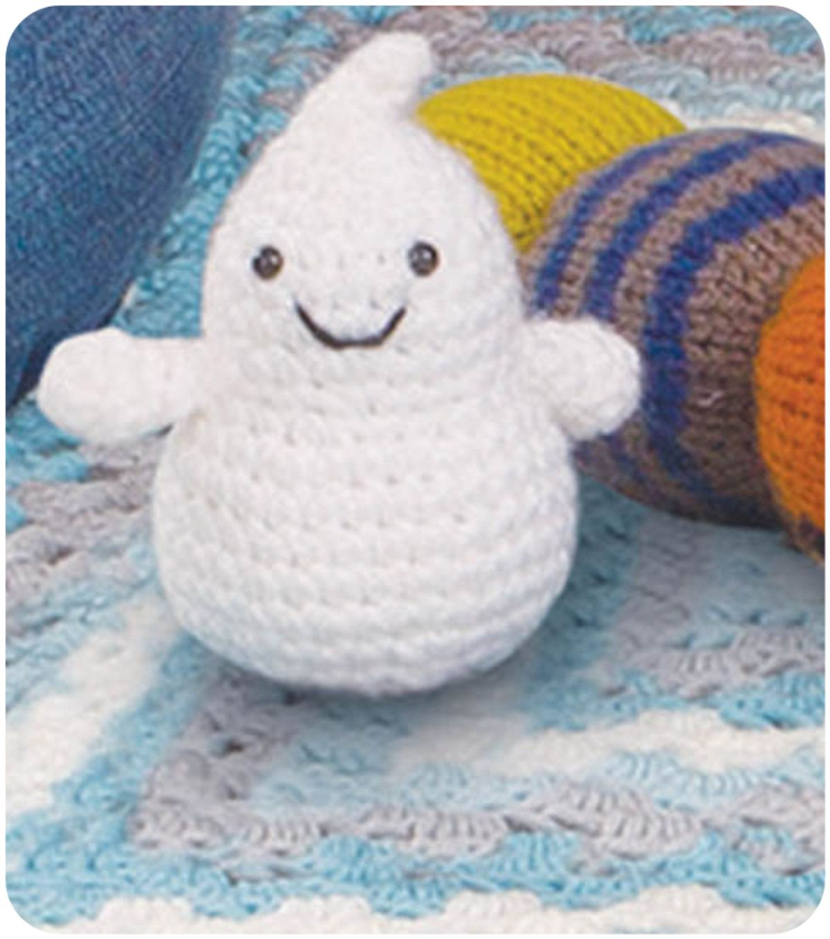 Crochet a ghost of your own :) @Lion Brand | Lettering Style ...