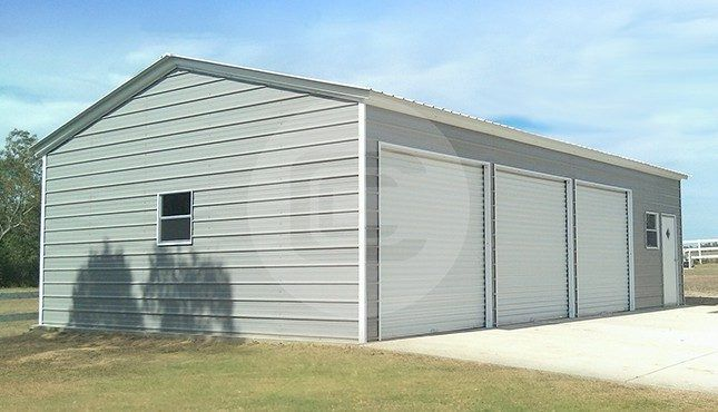 Best 24×36 Side Parking Garage Garage Prices Metal Garage 400 x 300
