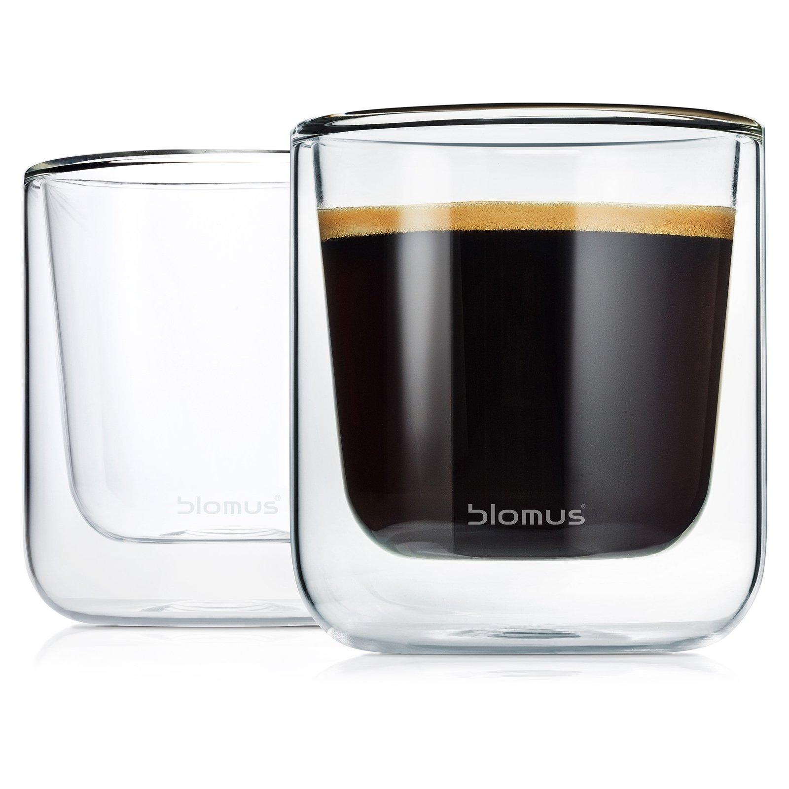 Blomus NERO Insulated Cappuccino Glasses