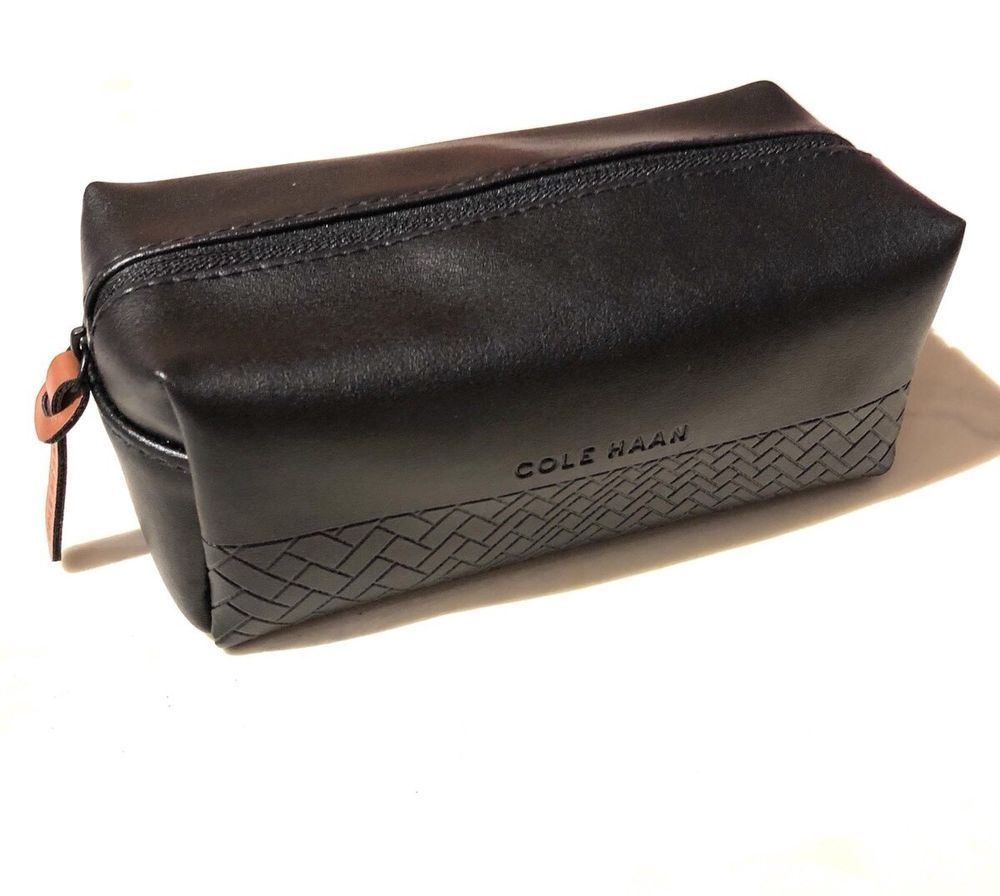 6b9509d4b91 Cole Haan Black Cosmetic Case Travel Bag | eBay | Modenese store on ...