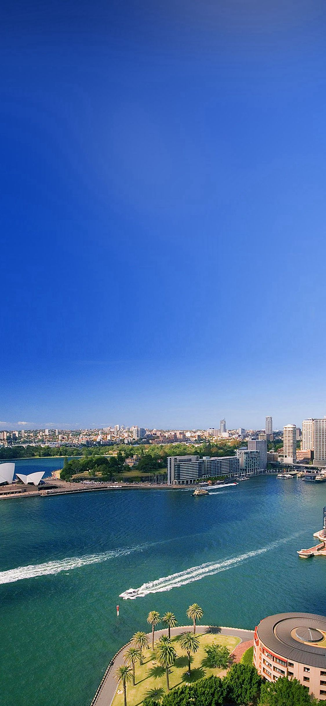 Australia Landscape City iPhone X wallpaper