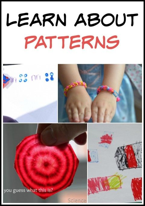 Pattern activity ideas
