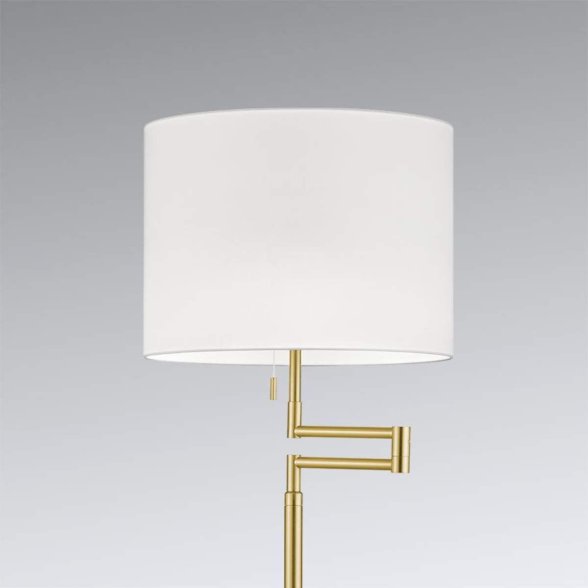 Moderne Stehlampe Lilian Von Knapstein Gold Led Stehleuchte