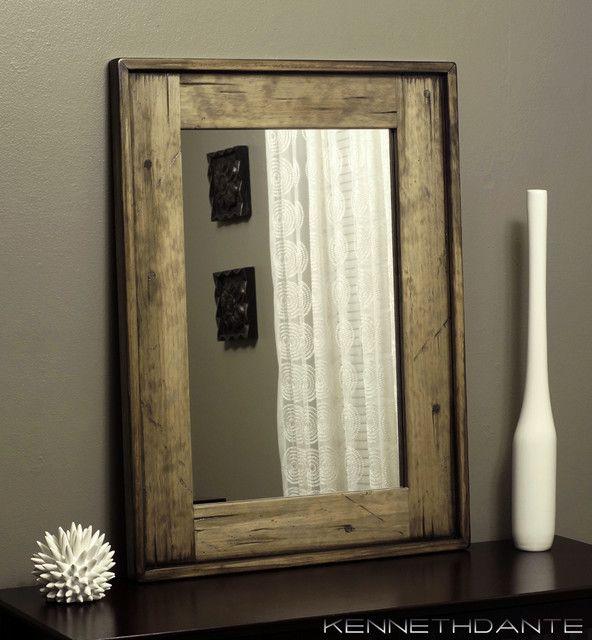 Charming Rustic Bathroom Mirrors