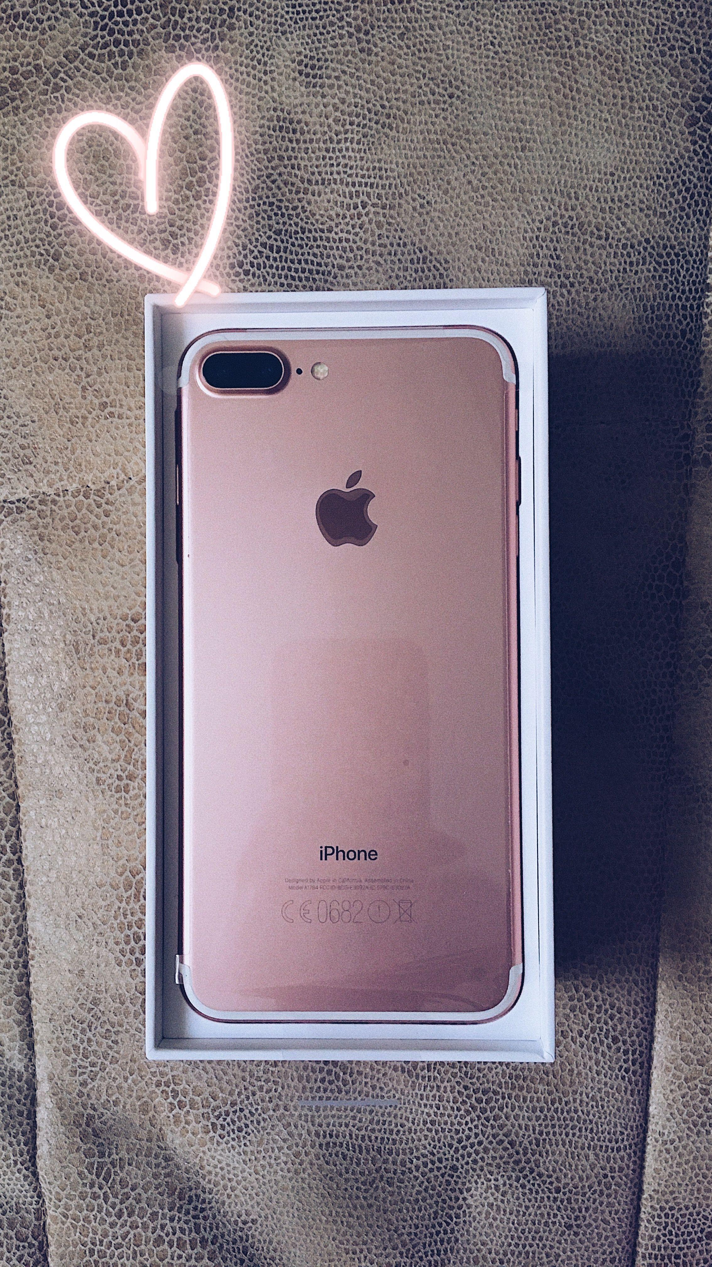 Iphone 7 Plus Rose Gold Acessorios Iphone Celulares Apple Capinhas Iphone 7 Plus