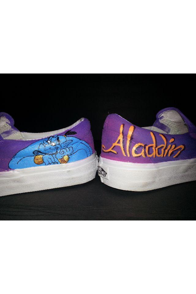 Disney Vans #aladdin #genie   Disney