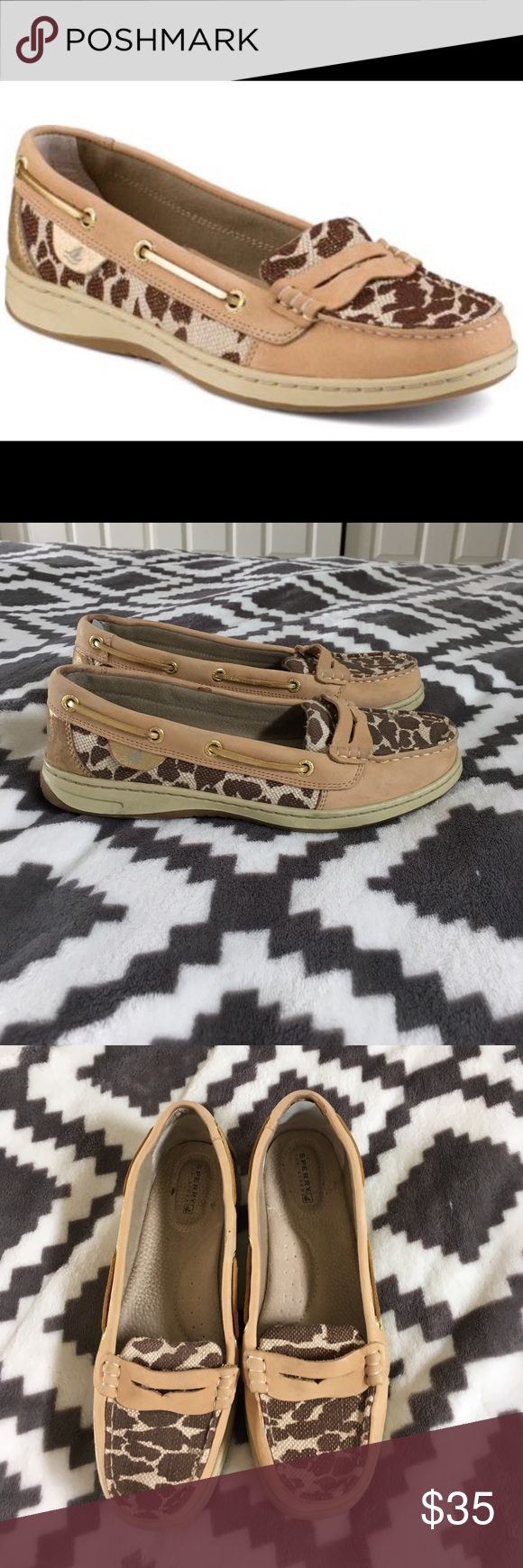 Sperry top sides Penny loafer In great shape worn just a few times perfect summer shoe women's 8.5 Sperry Top-Sider Shoes