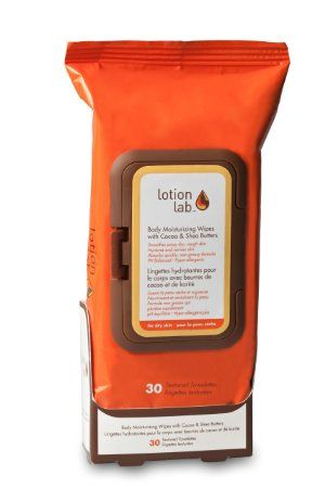 Lotion Wipes- With Shea & Cocoa Butters