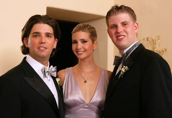 Trump Family Photos Trump Wedding Trump Kids Eric Trump