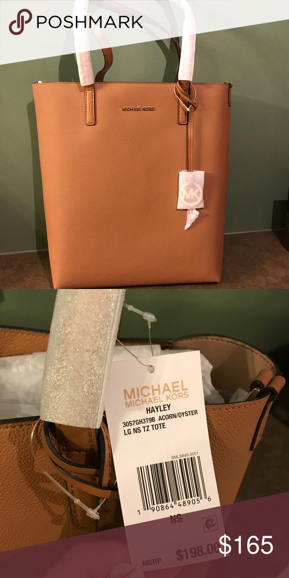 8bcdf44b5124 Michael Kors Hayley Purse Brown New with tags and original protective  packaging Michael Kors Bags Totes