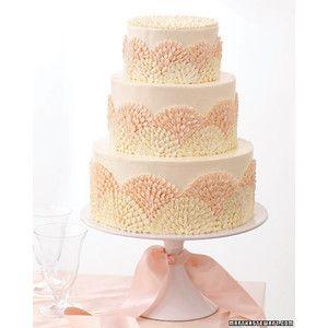 Modern Wedding Cakes Martha Stewart Weddings | Cake ideas ...