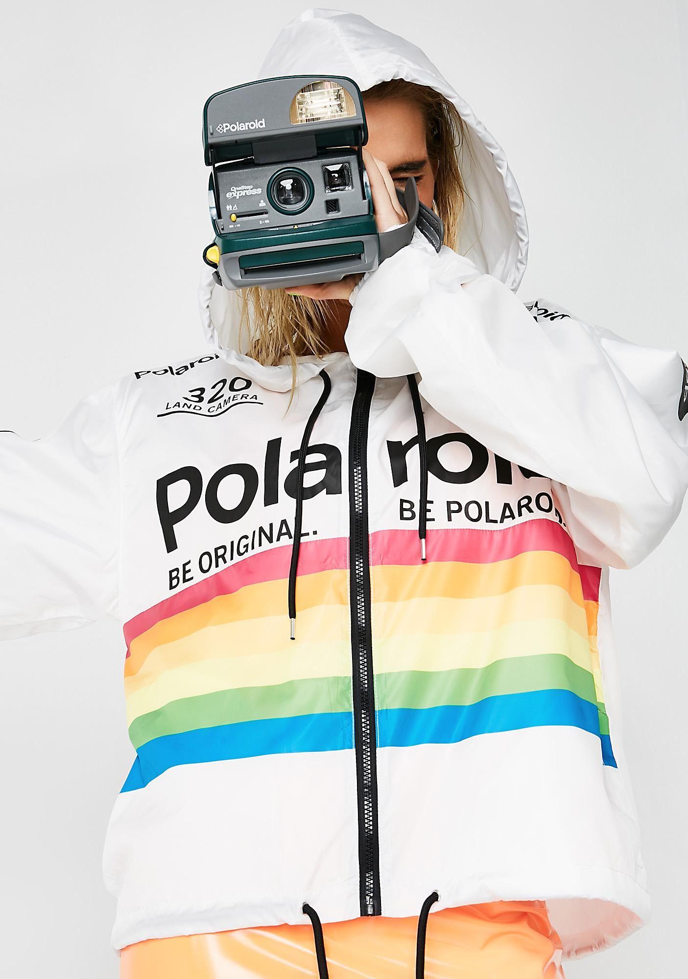 731709608 Shake That Polaroid Windbreaker   Style   Windbreaker, Polaroid, Jackets