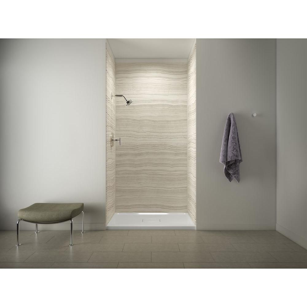 Kohler Archer Shower Receptor In White With Choreograph 96 In 5