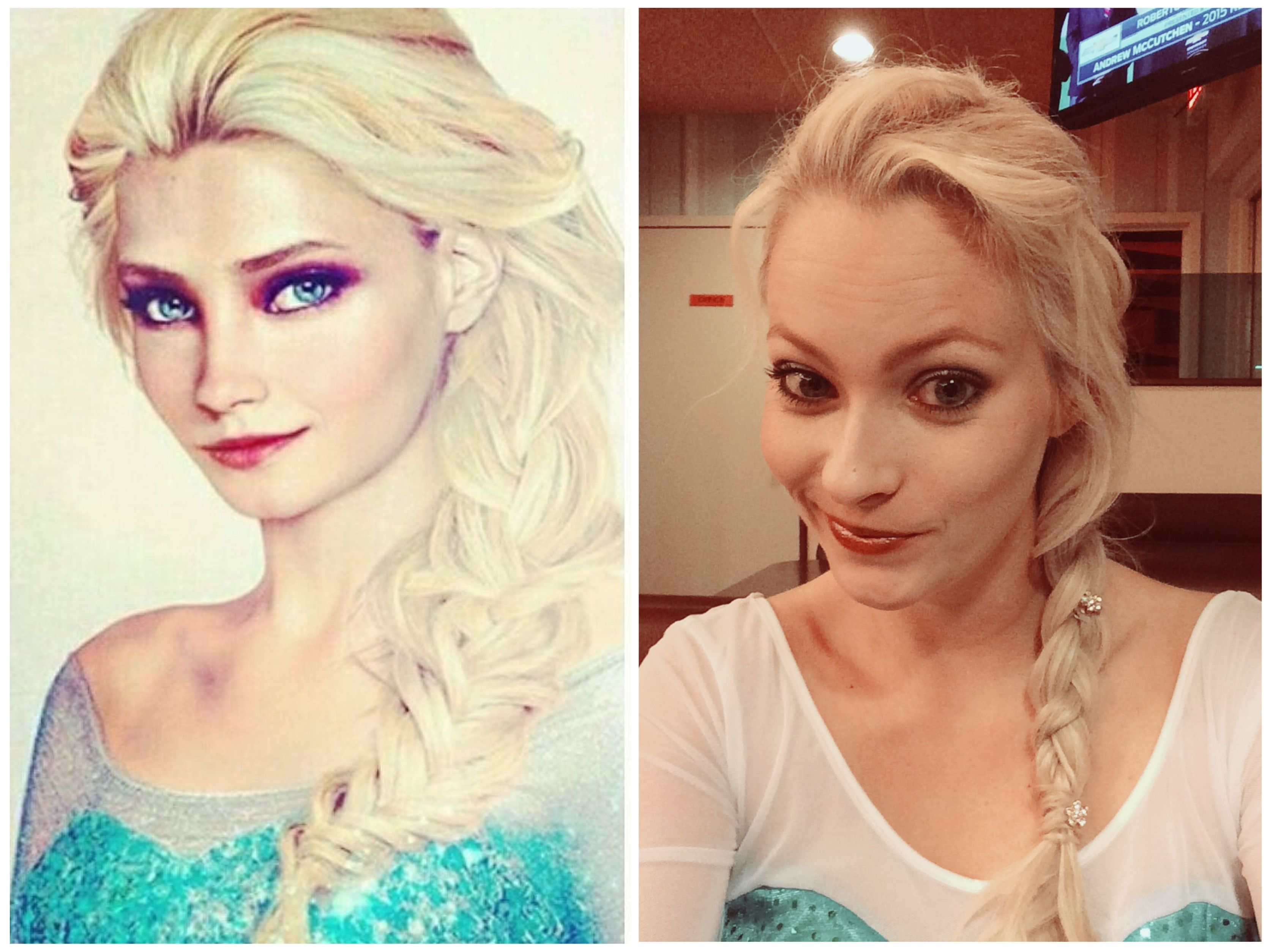 """Real Life"" Disney Elsa/Myself as Elsa #JirkaVäätäinen #QueenElsa #SummerBairdasElsa"