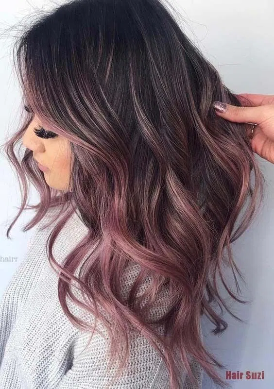 42 Fun Rose Gold Hair Color Ideas Womens Hair Colors Blackberry Hair Colour Hair Color For Fair Skin Cool Hair Color