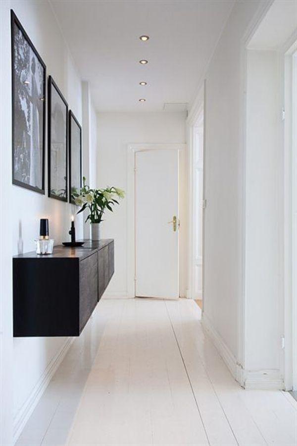 Kommode design flur  Sideboard hängend an der Wand für eine schicke Zimmerausstattung ...