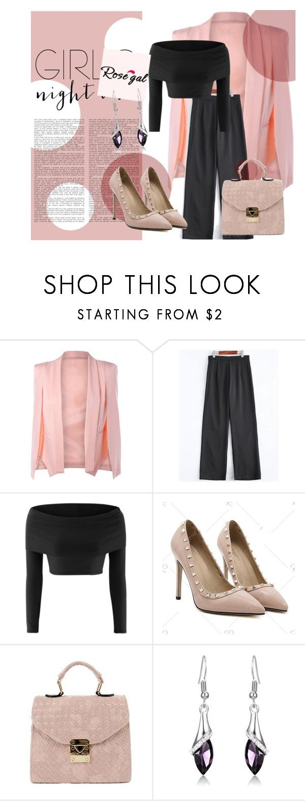 """""""ROSEGAL #26"""" by amina-haskic ❤ liked on Polyvore"""