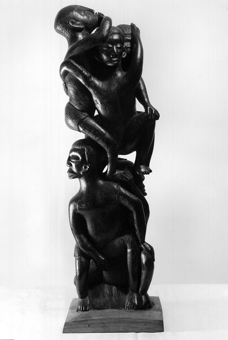 Modern Makonde sculpture, exhibition at the Renaissance Society, 9 October - 9 November 1967