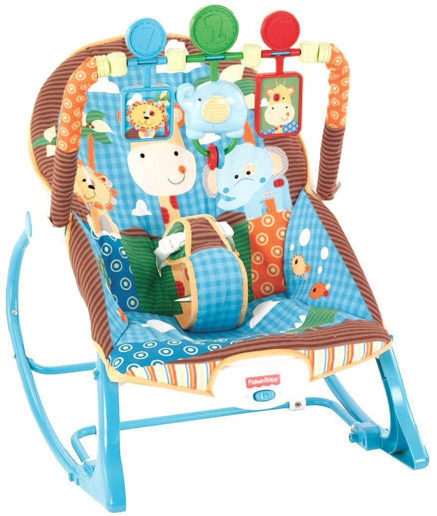 amazon com fisher price infant to toddler rocker jungle fun