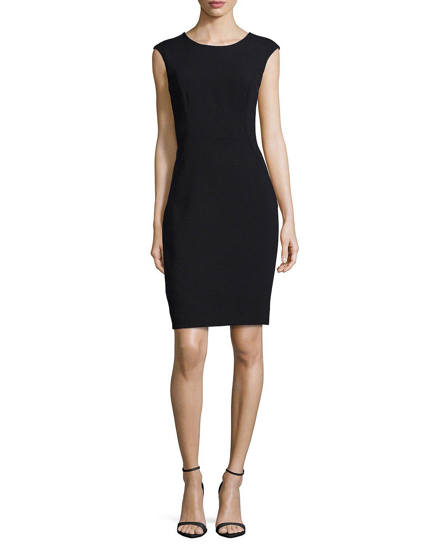 Modern Midi Sheath Dress