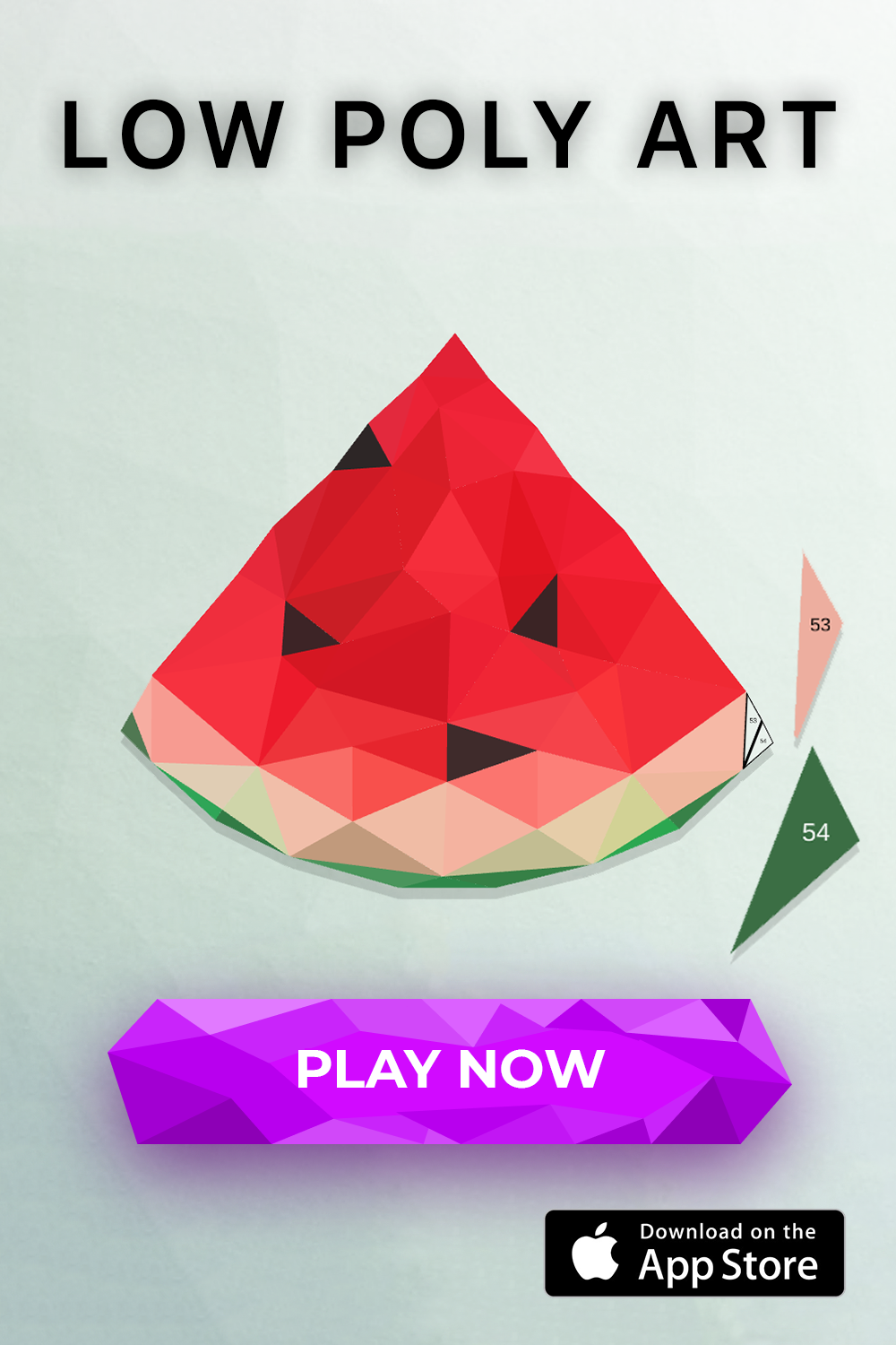 Low Poly is an amazing puzzle game that reveals creativity