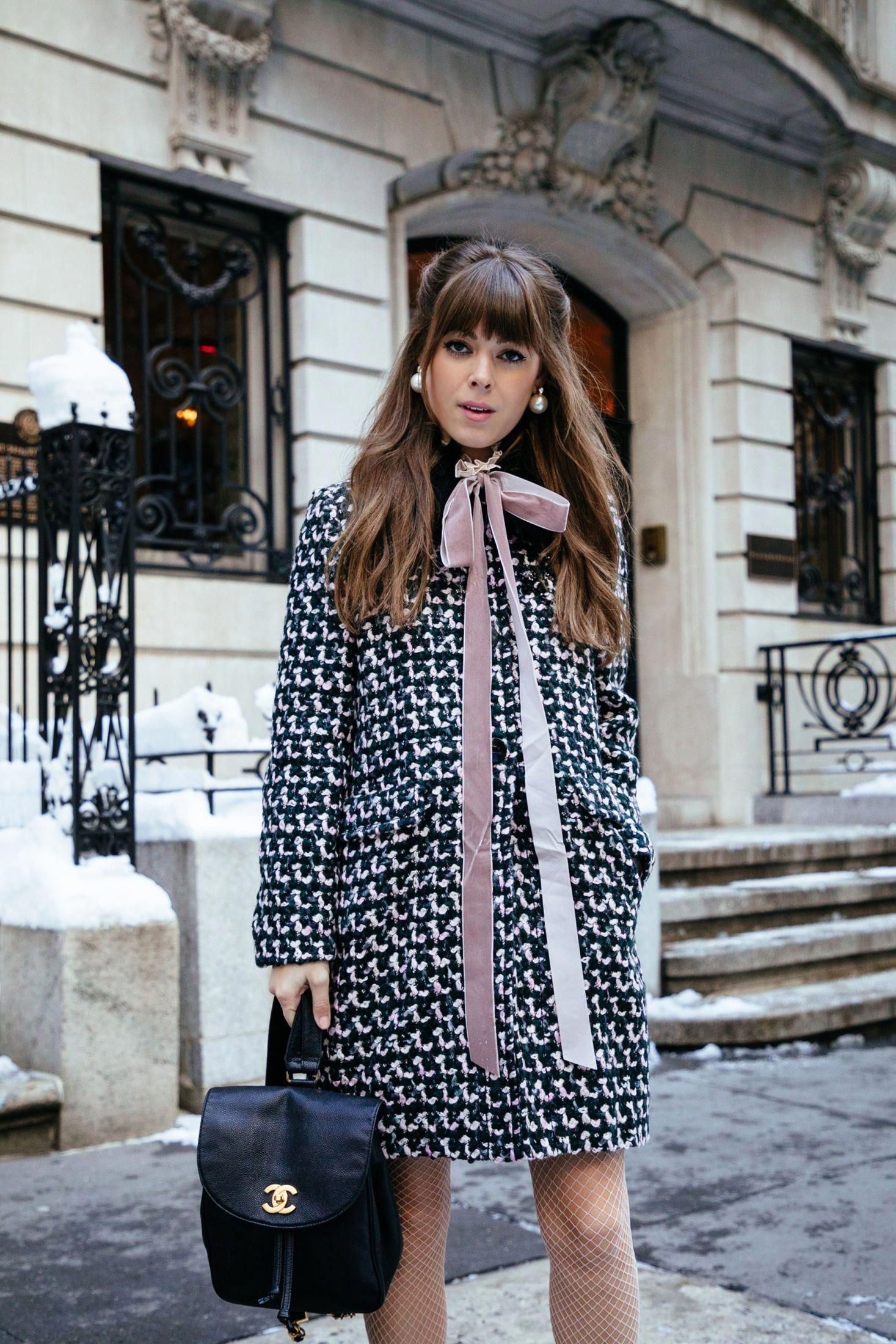 Tweed Coat Street Style | Jenny Cipoletti of Margo & Me