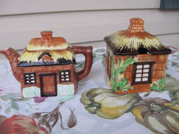 Occupied Japan Cottage Cream and Sugar