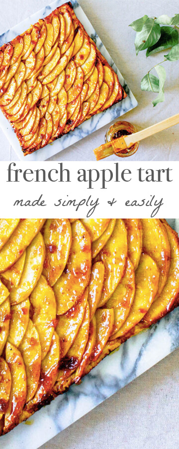 French Apple Tart Recipe | An Easy French Dessert - Mon Petit Four