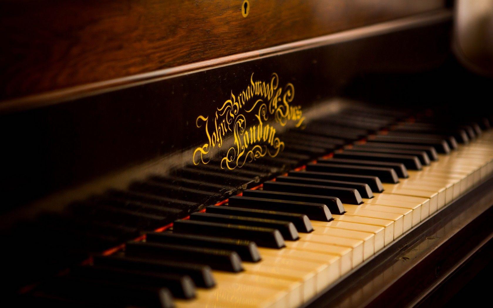 Piano Wallpaper Papel de parede musical, Musical