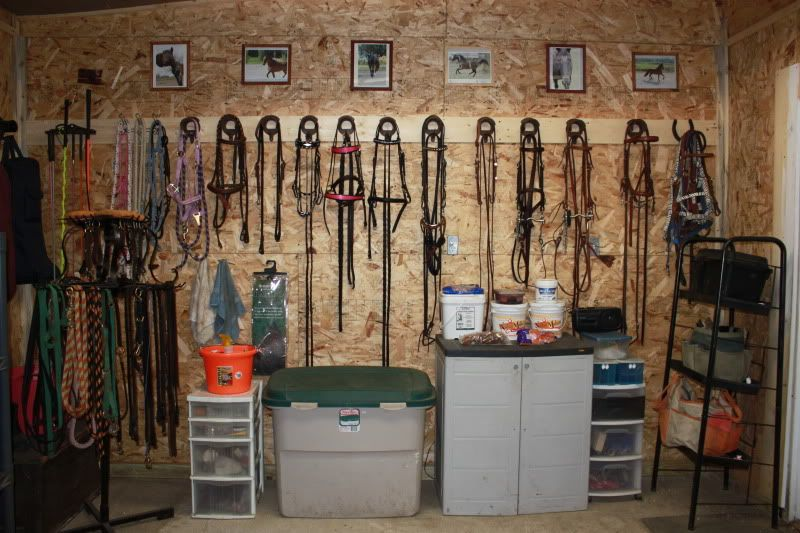 Barn Tack Room Pictures Need Some Tack Room Organization Ideas