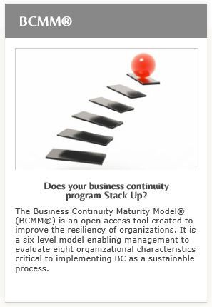 The Business Continuity Maturity Model Bcmm Is A Free Open