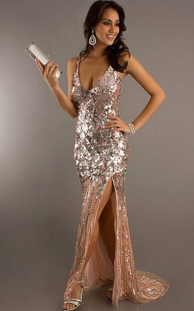 hot dresses | sexy long sequin prom dress 2012 by primavera ...