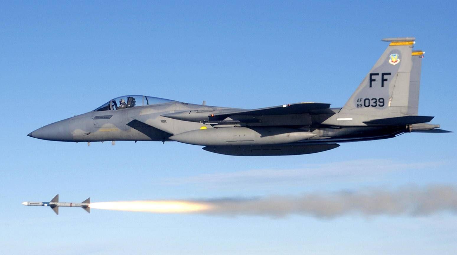 Avión caza F-15 Eagle | Army | Pinterest | Caza, Avión y Aviones de