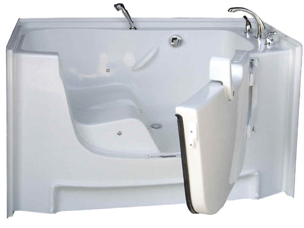 Walk-In Tub for Disabled People #WalkInTubs >> See more info at http ...